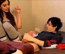 Vídeo de Sexo comendo a patroa